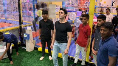 Gautam Rode kick starts birthday month by spending time with children