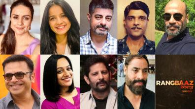 Gul, Mahima, Sushant, Amit, Mohan, Harsh, Spruha, Raj, Shaji in ZEE5's Rangbaaz 2