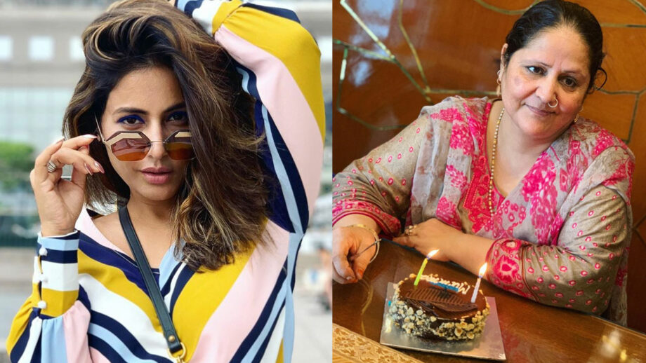 Hina Khan's special surprises for mother on her birthday