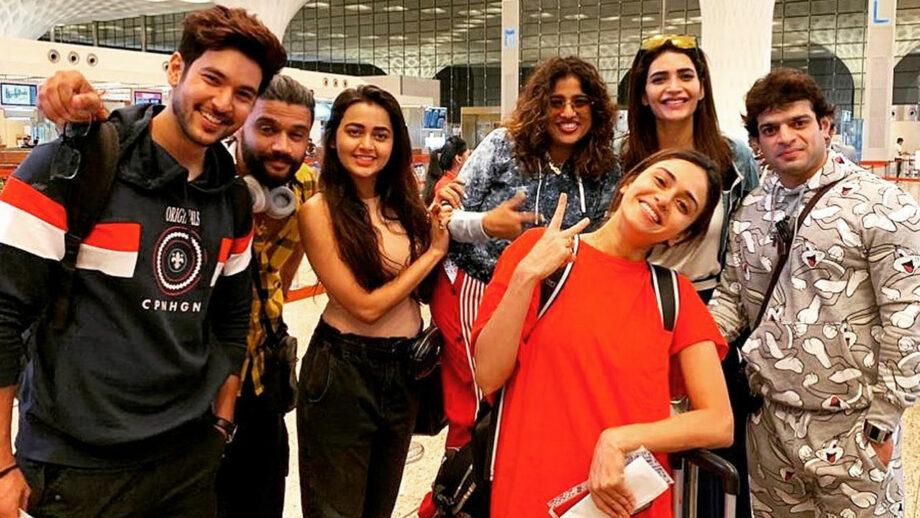 Khatron Ke Khiladi 10: Contestants Karan Patel, Adaa Khan, Tejasswi Prakash, Karishma Tanna and others leave for Bulgaria for the shoot