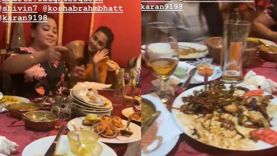Khatron Ke Khiladi's team have a fun meal