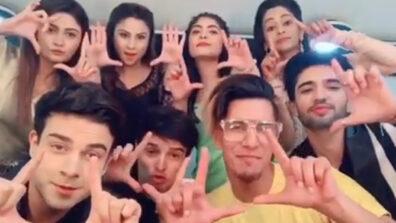 Kumkum Bhagya actors Mugdha Chaphekar, Krishna Kaul, Aparna Mishra, Ruchi Savarn fun TikTok video