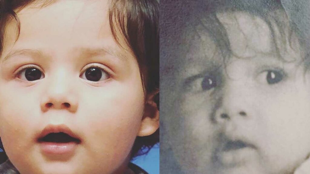 Like Father Like Son: Shahid and Zain Kapoor's cute picture