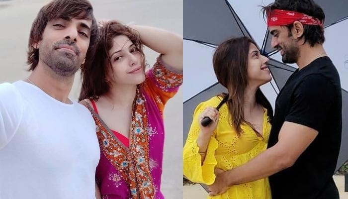 Mohit Malik and Aditi Malik are too cute on their Goan vacation