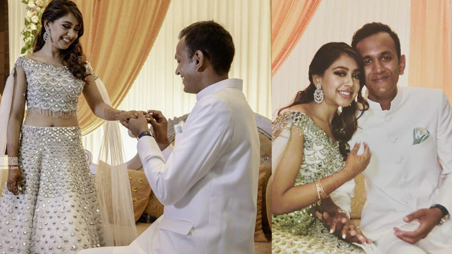 Niti Taylor and Parikshit Bawa's engagement pictures