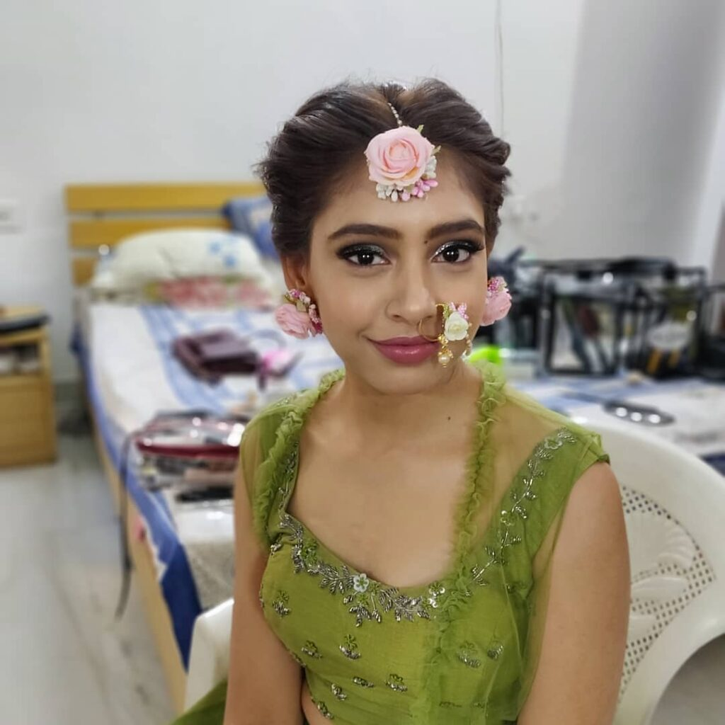 Niti Taylor and Parikshit Bawa's mehendi ceremony 3