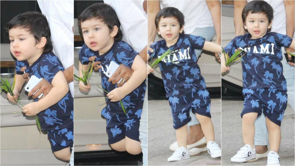 Our cutest Crush of the Month: Taimur Ali Khan 7