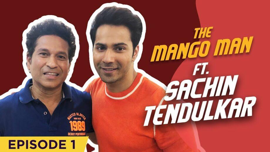 Sachin Tendulkar, the first guest in Varun Dhawan's new