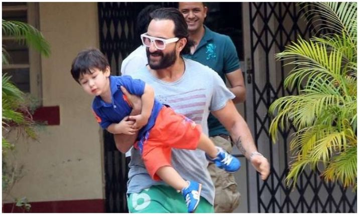 Saif Ali Khan and Taimur are absolute father-son goals 2