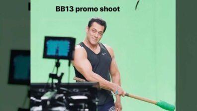Salman Khan shoots a promo for Bigg Boss 13