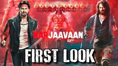 Sidharth Malhotra-Riteish Deshmukh starrer 'Marjaavaan' first look out