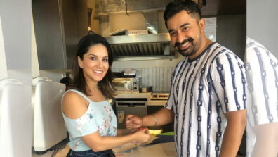 Sunny Leone ties rakhi to Splitsvilla co-host Rannvijay Singh