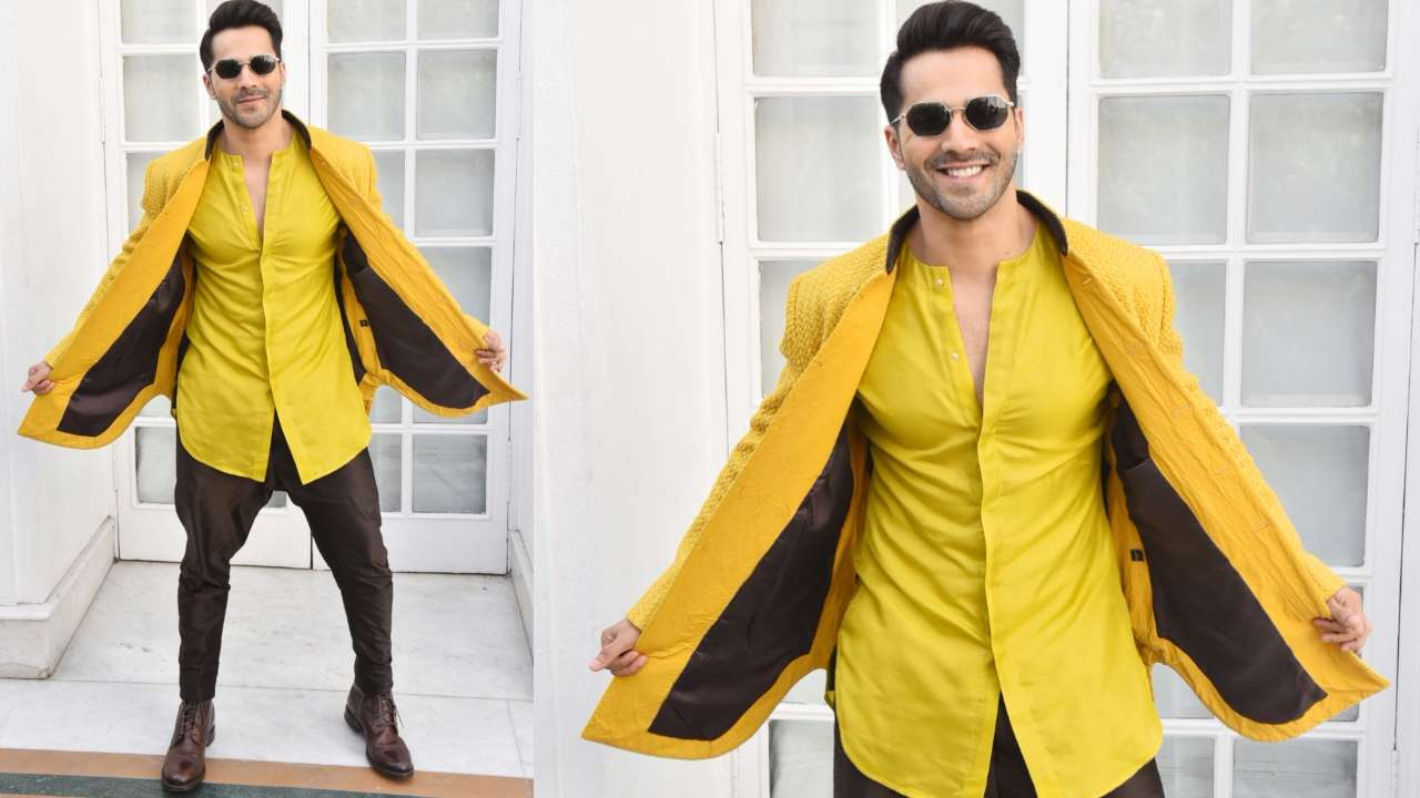 The Most Stylish Moments Of Teen Heartthrob Varun Dhawan 1