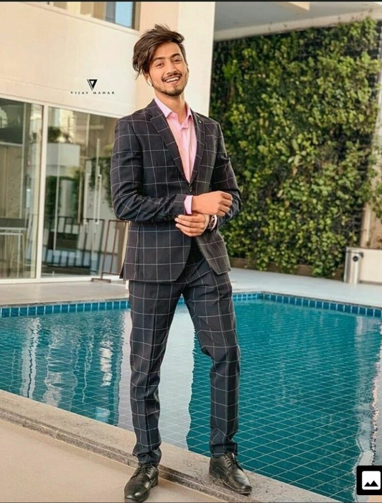 TikTok star Faisu and his suit looks 2