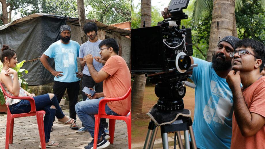 TikTok star Jannat Zubair Rahmani and Manish Tyagi in Sachin Gupta's music video