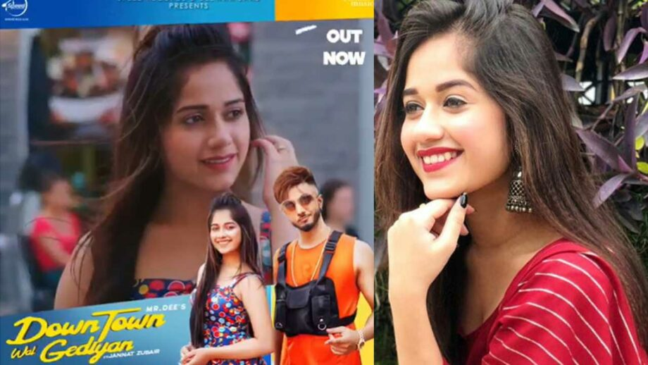 TikTok star Jannat Zubair's new song 'DOWNTOWN WAL GEDIYAN' is out