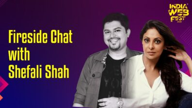Watch Now: Ram Kamal Mukherjee in conversation with Shefali Shah at India Web Fest 2019