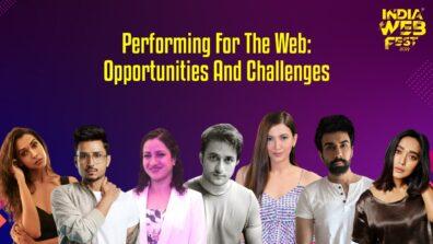 Watch Now: Session with Priyanka Sinha Jha, Gauahar Khan, Amol Parashar, Naveen Kasturia, Veer Rajwant Singh, Anupriya Goenka, Sayani Gupta at India Web Fest 2019