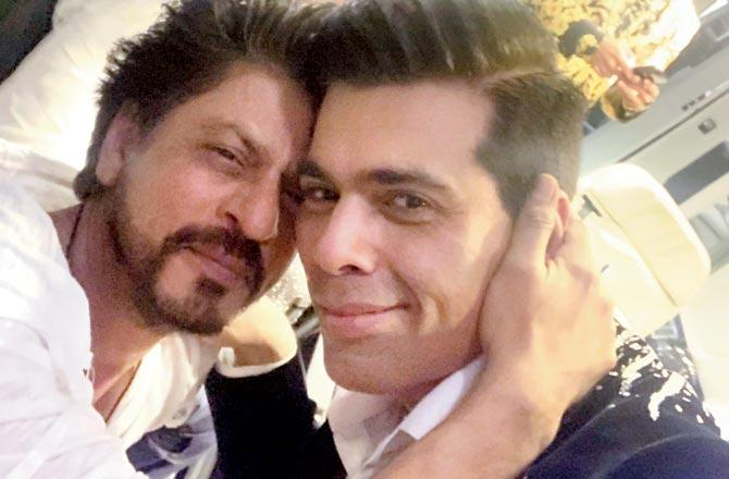When Karan Johar and Shahrukh Khan proved they are absolute BFF goals 1
