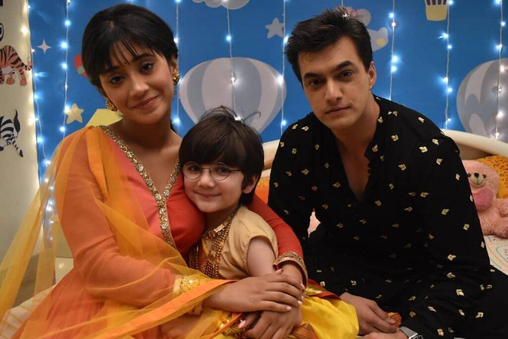 Yeh Rishta Kya Kehlata Hai: Father-son Kartik and Kairav's moments