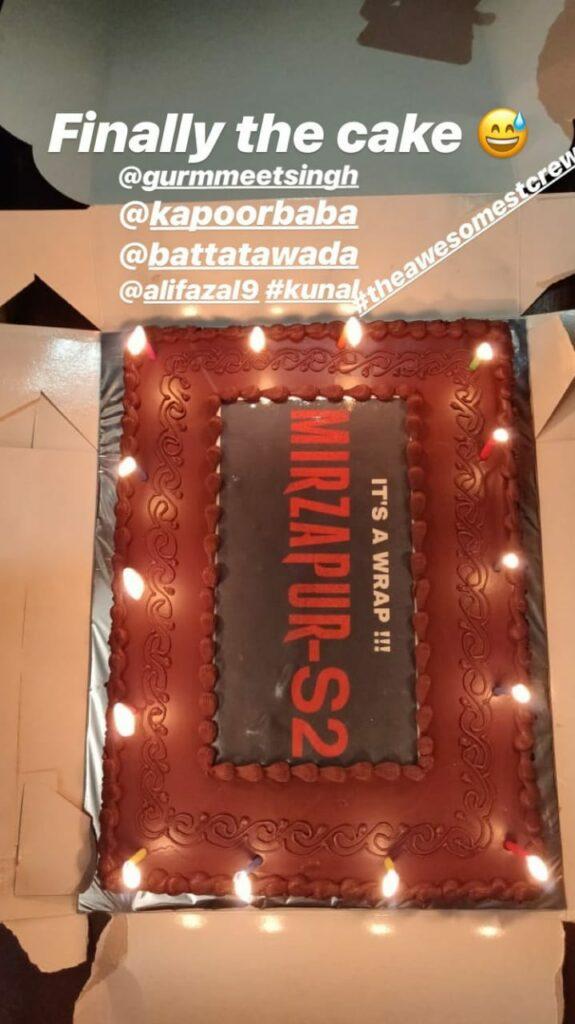 Amazon Prime web series Mirzapur 2 shoot wraps up | IWMBuzz