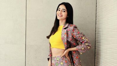 Ananya Panday shines on the cover of Grazia Magazine