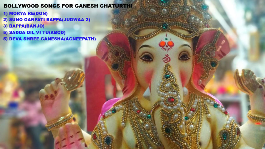 Bollywood Songs To Groove To This Ganesh Chaturthi