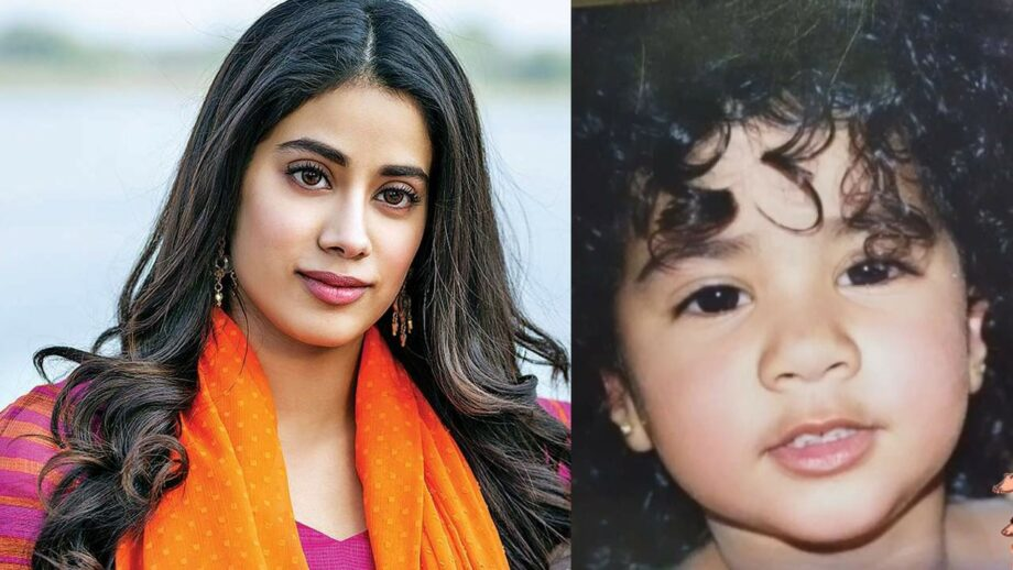Catch this cute adorable throwback pic of Jahnvi Kapoor