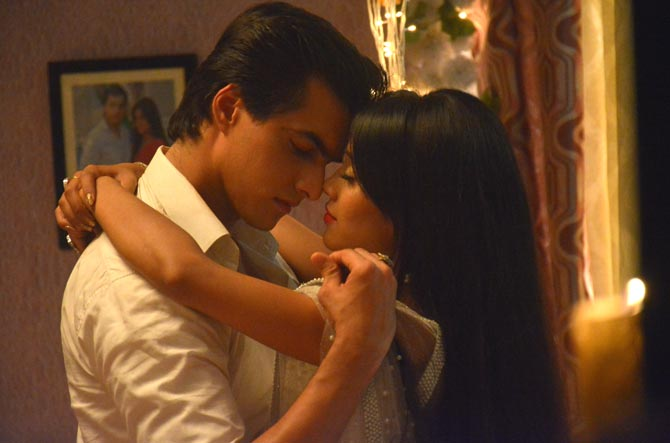 Fun moments of Kartik-Naira, behind the scenes 6