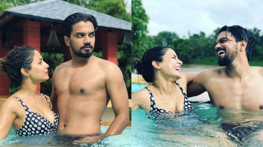 Hina Khan and Rohit Jaiswal's pictures are giving us major relationship goals 4