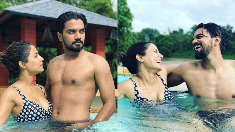 Hina Khan and Rohit Jaiswal's pictures are giving us major relationship goals 7