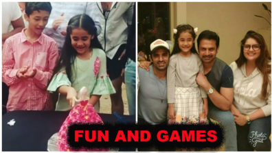 It's all fun and games for the cast of Kulfi Kumar Bajewala behind the scenes