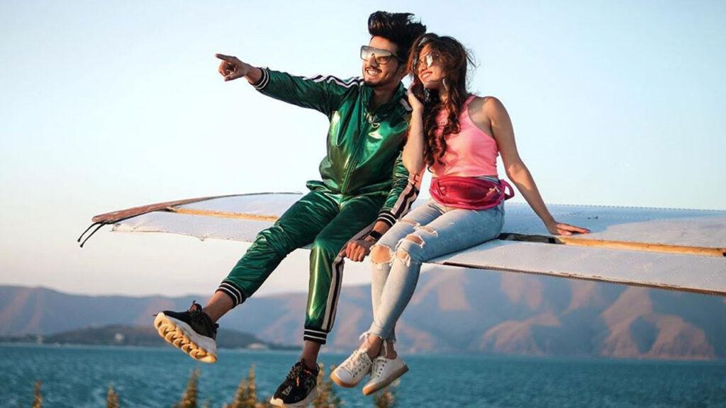Love is in the air for TikTok stars Faisu and Jannat Zubair