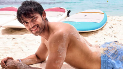 Parth Samthaan's hot bare-bodied picture on the beach