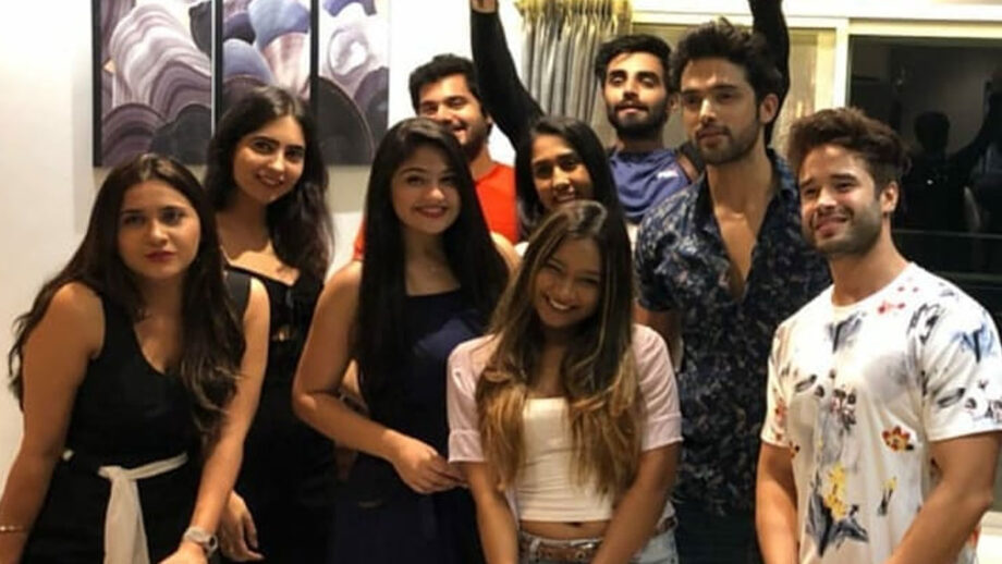 Party time for Parth Samthaan