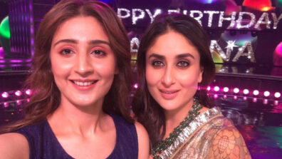 Pop sensation Dhvani Bhanushali's fan moment with Kareena Kapoor Khan on Dance India Dance set
