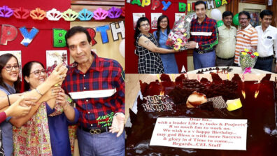 Producer Dheeraj Kumar celebrates his birthday in style