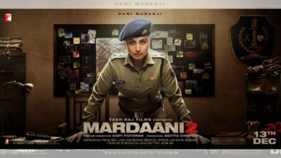 Rani Mukherji is back in her cop avatar with Mardaani 2 1