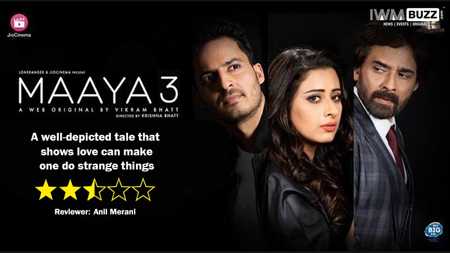 Review of Vikram Bhatt's Maaya 3: A well-depicted tale that shows love can make one do strange things