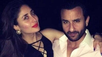 Revisiting these awwdorable moments of Kareen Kapoor Khan and Saif Ali Khan one more time