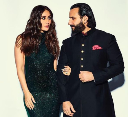 Revisiting these awwdorable moments of Kareen Kapoor Khan and Saif Ali Khan one more time 4
