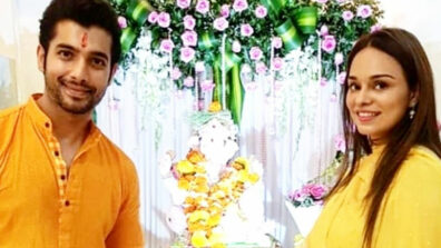Sharad Malhotra and Ripci talk about their first Ganesh Chaturthi post marriage