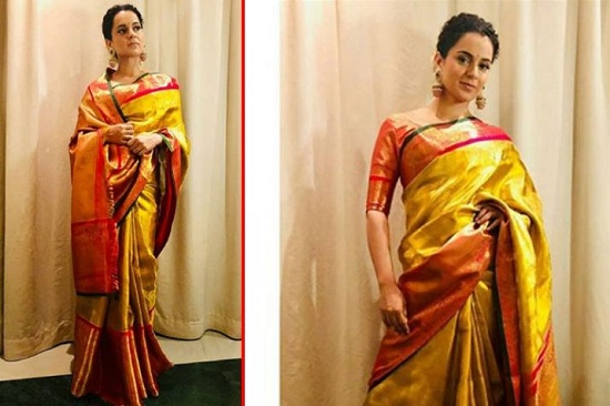 Steal These Sarees From Kangana Ranaut's closet 2