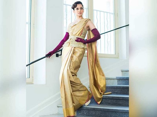 Steal These Sarees From Kangana Ranaut's closet