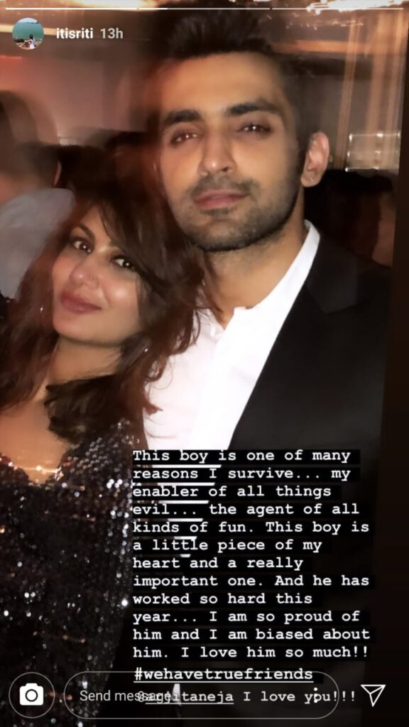 This boy is a little piece of my heart: Sriti Jha pens a note for Arjit Taneja