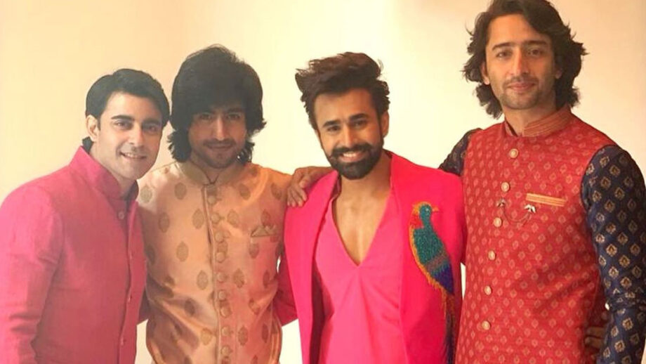 TV heartthrobs Shaheer Sheikh, Harshad Chopda, Pearl Puri and Gautam Rode join hands for a new project