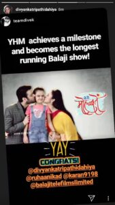 Yeh Hai Mohabbatein becomes longest running Balaji Telefilms show on TV! 1