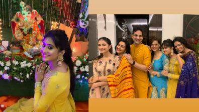 Yeh Rishta Kya Kehlata Hai actress Shivangi Joshi celebrates Ganesh Chaturthi