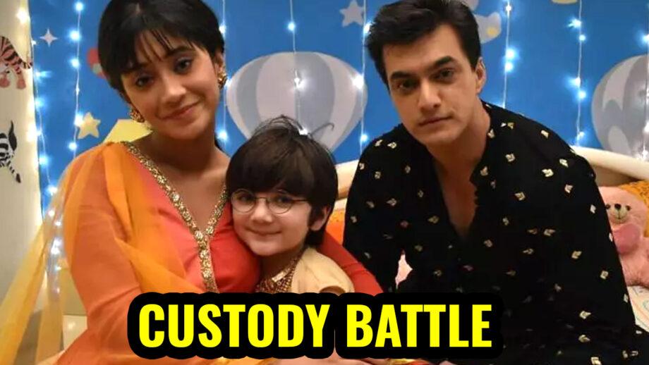 Yeh Rishta Kya Kehlata Hai: Kartik and Naira head for Kairav's custody battle