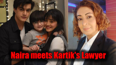 Yeh Rishta Kya Kehlata Hai: Kartik takes Naira and Kairav to meet his lawyer Damini